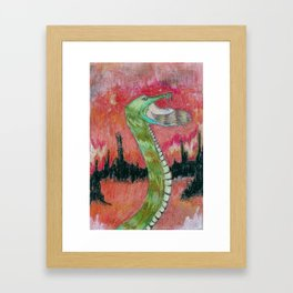 Birth of the Snake Queen  Framed Art Print