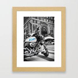 NYPD Blues Framed Art Print