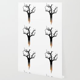 Pencil tree Wallpaper