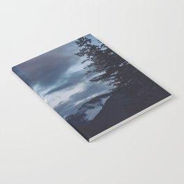 quietly, moon Notebook
