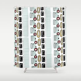 7225 Collection #6 Shower Curtain