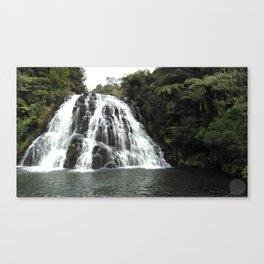 Owharu Falls, New Zealand Canvas Print
