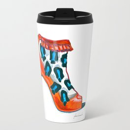 Pretty in Print Travel Mug