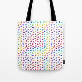 funky triangles Tote Bag