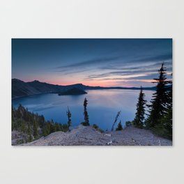 Sunrise At Crater Lake Canvas Print