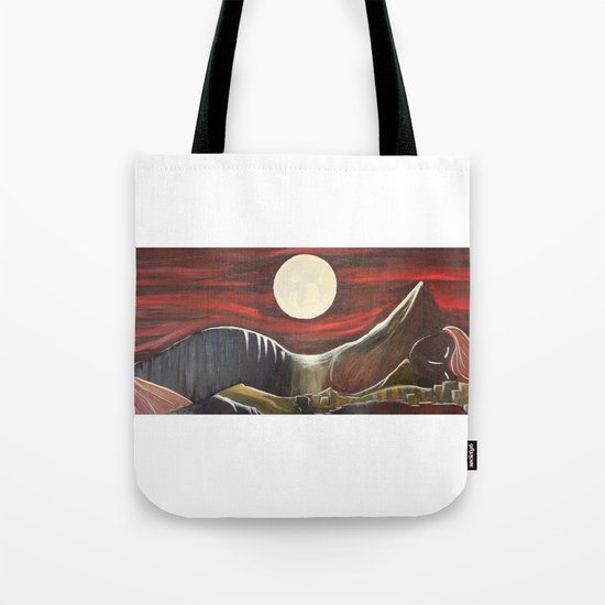 Gaia and Luna Grande Tote Bag