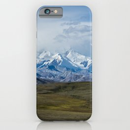 Mount McKinley Denali National Park Alaska iPhone Case