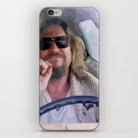the big lebowski iPhone & iPod Skins featuring Lebowski  by Swift Sloth