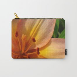 Orange Lily Closeup Carry-All Pouch