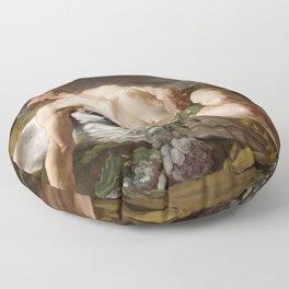 Morpheus by Jean-Bernard Restout (1771) Floor Pillow