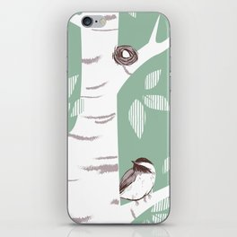 Birch Birds iPhone Skin