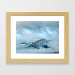 Coffee in the Clouds Framed Art Print
