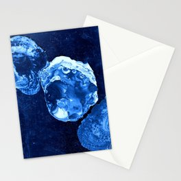 indigo blue Stationery Cards