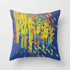 colorfall Throw Pillow