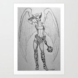 Shayera Art Print
