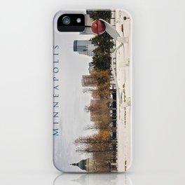 Minneapolis iPhone Case