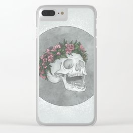 Flower Prince Yorick Clear iPhone Case