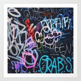Graffiti Writing Kunstdrucke