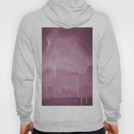 Pink graffiti stain on gray background ready for picture, clothes, furniture, iphone cases Hoody