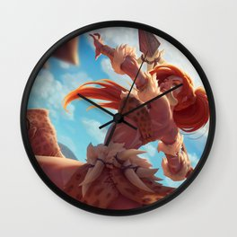 Leopard Nidalee League Of Legends Wall Clock