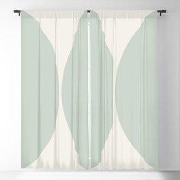 Curvature Minimalism - Sage Blackout Curtain