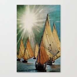 Chapter 5: A Sudden Flash of Brilliant Light and Deafening Silence Canvas Print