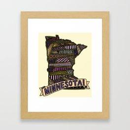 Minnesota! Framed Art Print
