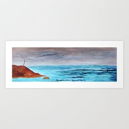 Troubled Water Art Print