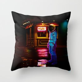 Everyday Is The Same Throw Pillow