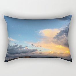 Clouds Obsessed Rectangular Pillow