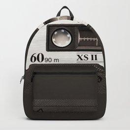 Cassette Tape Black And White #decor #society6 #buyart Backpack