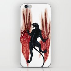 BLACK PANTHER SCRATCH iPhone & iPod Skin