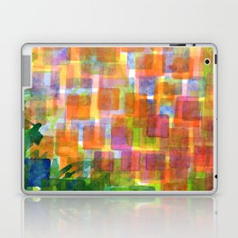 Magnified Detail of a Blossom Laptop & iPad Skin