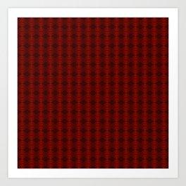 Blood: Pattern Art Print