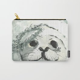 White Seal Carry-All Pouch