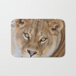 Lioness by OLena Art Bath Mat