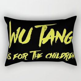 Wu Tang is for the Children Rectangular Pillow
