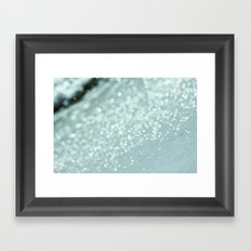 The Ocean's Glow Framed Art Print