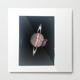 Turtle #16 (Plate V Saturn) [Cecilia Lee] Metal Print