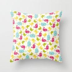 Sweet Tweets Throw Pillow