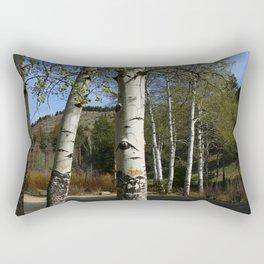 Aspen in Spring Rectangular Pillow