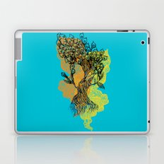 peacock tree Laptop & iPad Skin