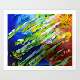 Underwater Painting Art Print