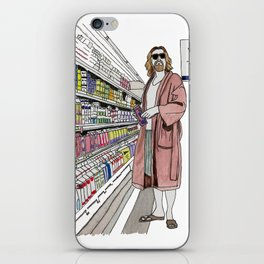 Jeffrey Lebowski and Milk. iPhone Skin