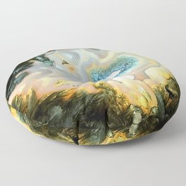 Geode Fairyland - Inverted Art Series Floor Pillow