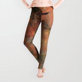 Elegantly Marbleized on Hand-made Paper Leggings