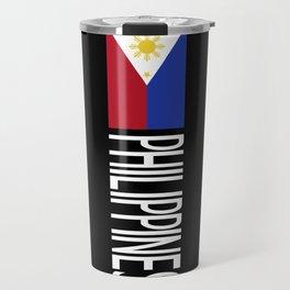 Philippines: Filipino Flag & Philipinnes Travel Mug