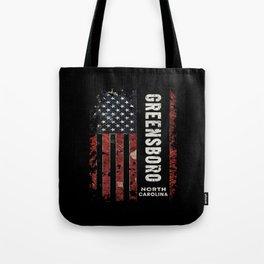 Greensboro North Carolina Tote Bag