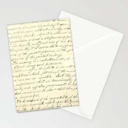 Vintage Writing Stationery Cards