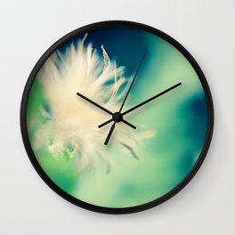 Whimsical Petals Wall Clock